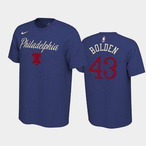 Philadelphia 76ers Jonah Bolden Earned T-Shirt